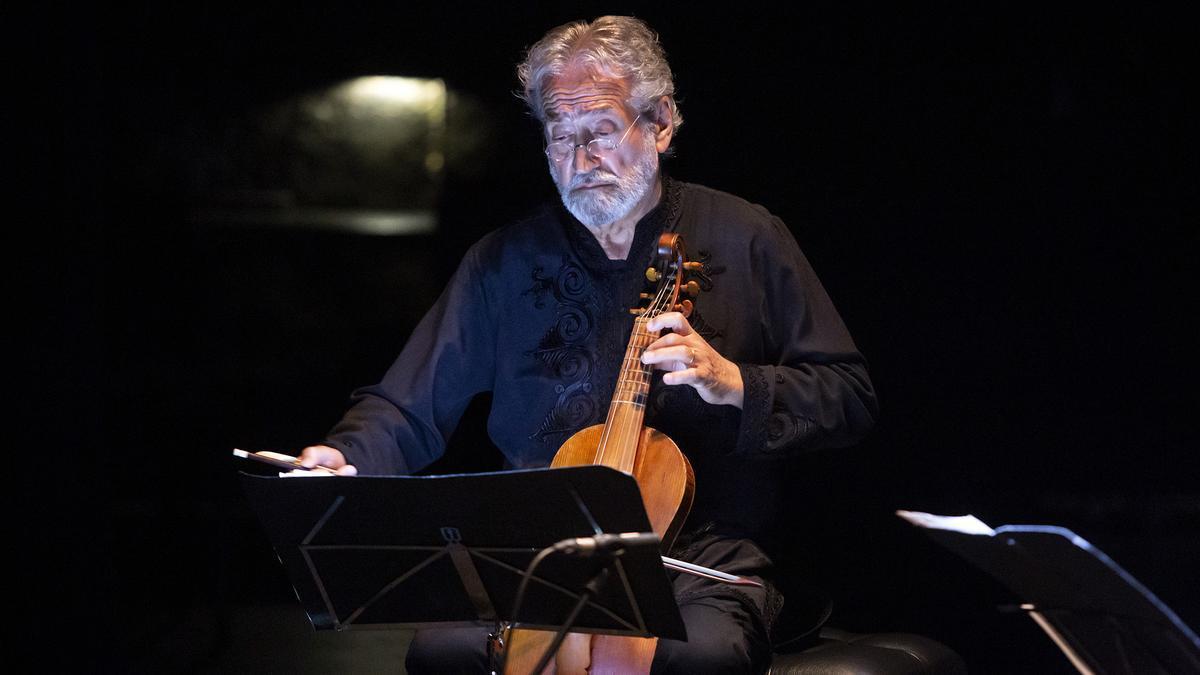 Savall, en el recital del Cervantes