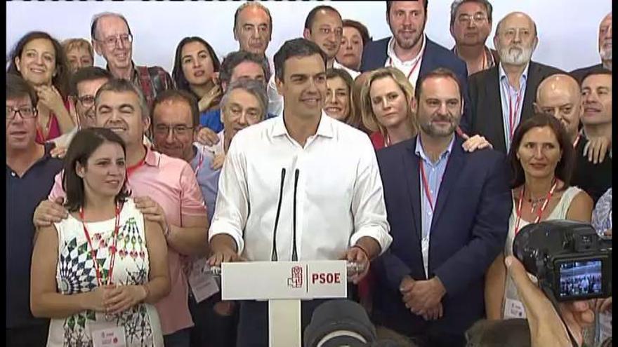 """Sánchez """"no renunciará"""" a gobernar buscando alianzas con la """"mayoría del cambio"""""""