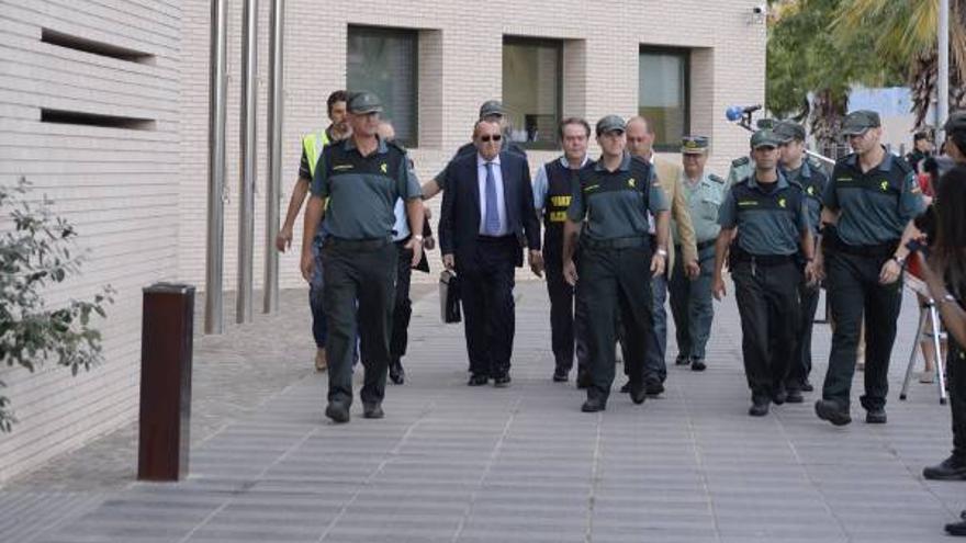 GALERÍA DE FOTOS - Segunda sesión del Juicio a Carlos Fabra (03-10-2013)