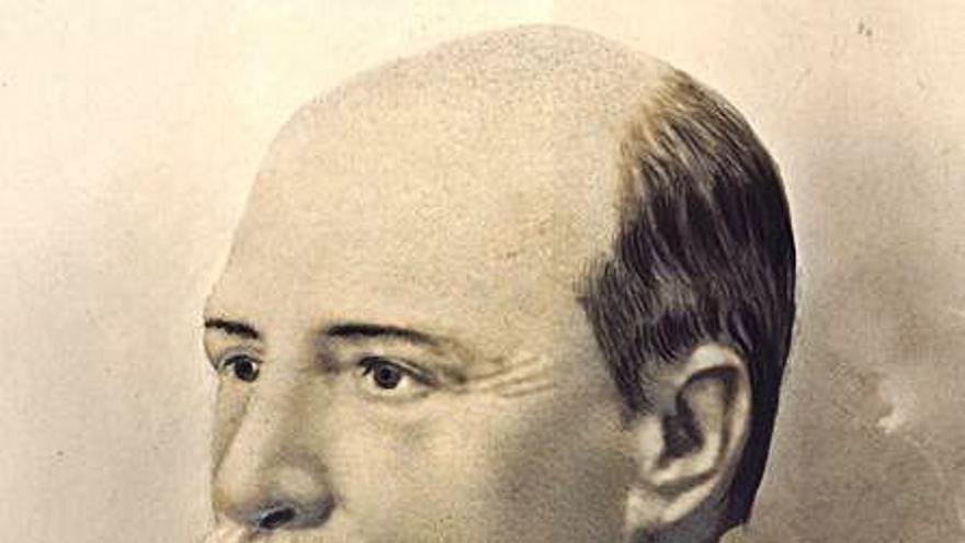 Gandia adquiere la primera fotografía del militar y político Alcalá de Olmo
