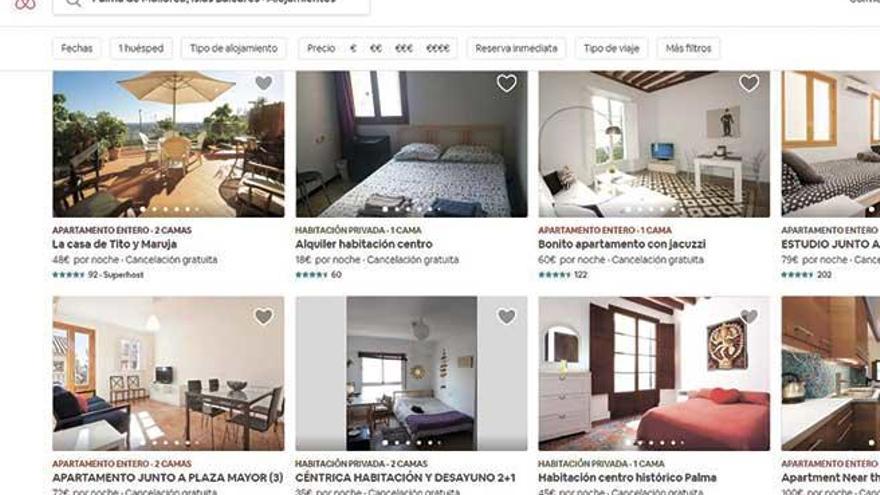 Airbnb y Homeaway burlan el veto y siguen anunciando pisos turísticos