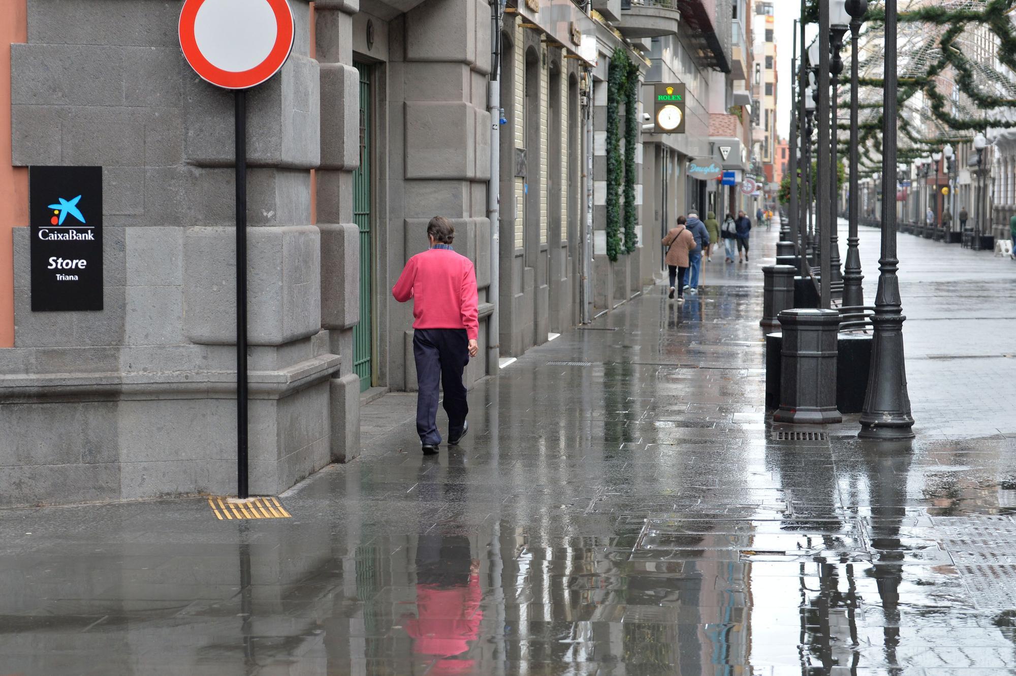 Triana abre 2021 con lluvias