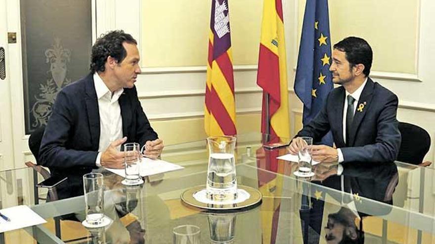 Balears, Cataluña y el corredor mediterráneo
