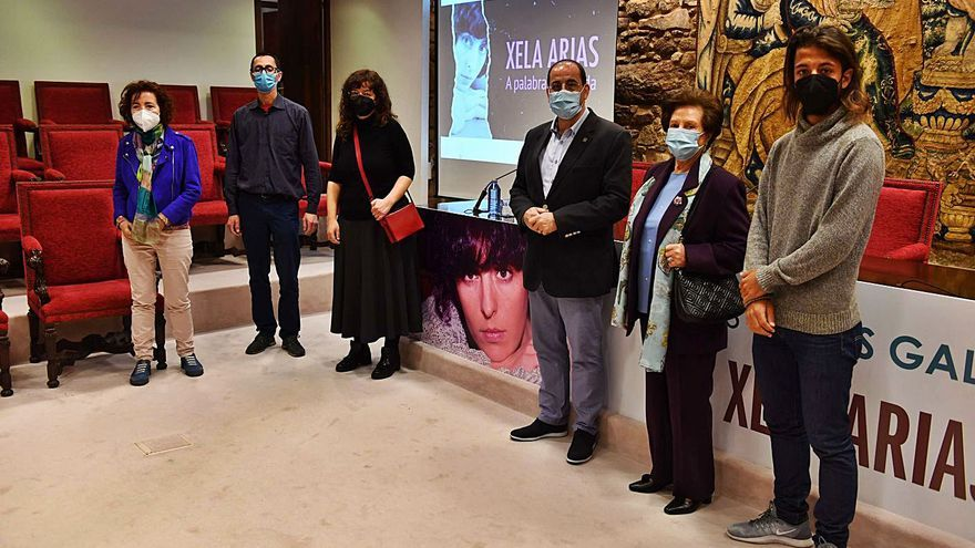 A Real Academia Galega estrea unha serie documental sobre a vida e obra da escritora Xela Arias