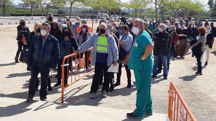 VÍDEO | La provincia inicia el proceso de vacunación masiva en el Auditori de Castelló
