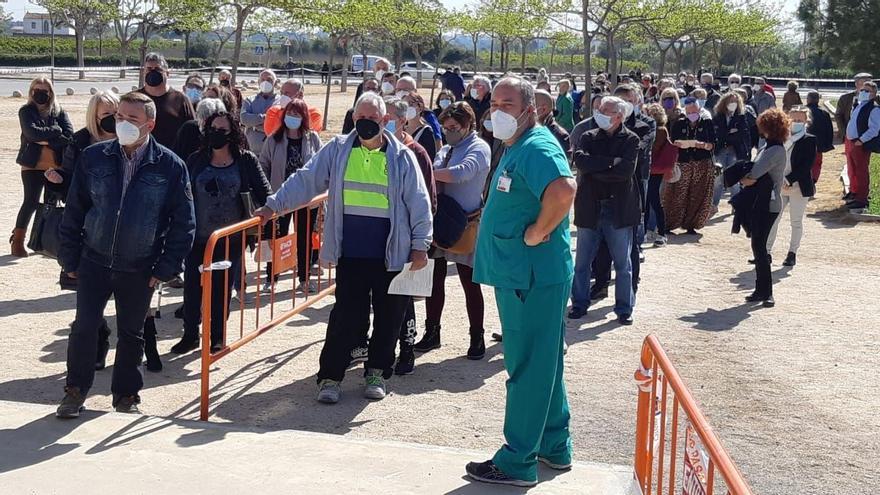 Arranca la vacunación masiva en el Auditori de Castelló