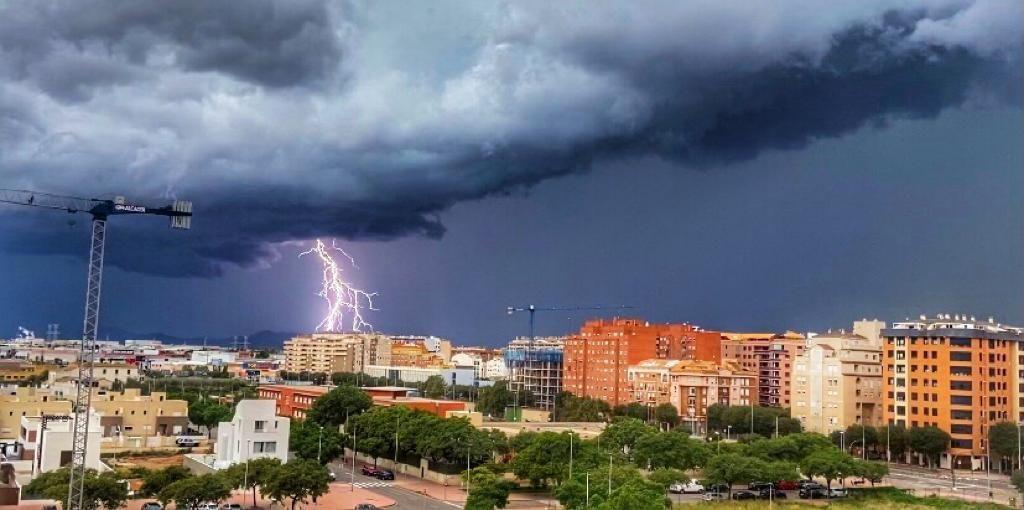 Las imágenes más impactantes de la tormenta