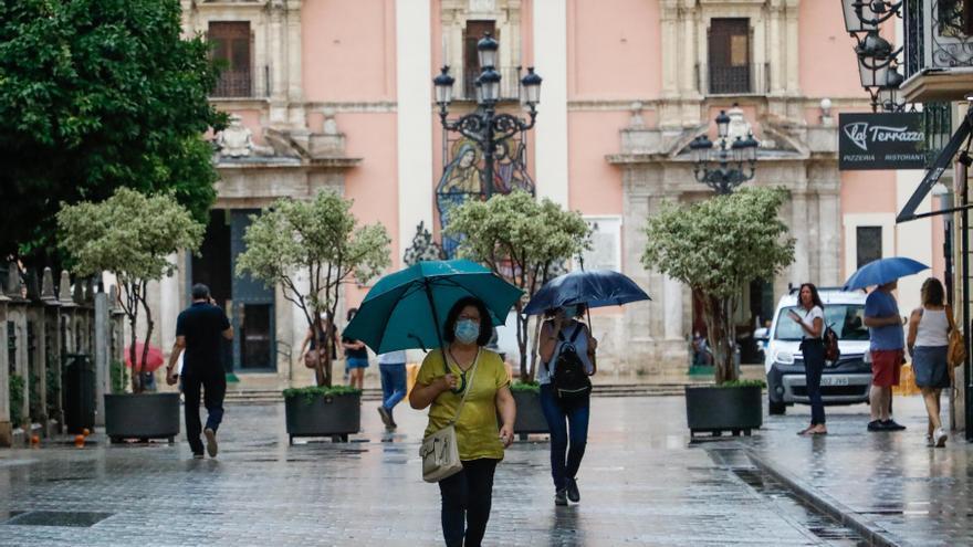 El tiempo en València: Cuándo es más probable que llueva hoy