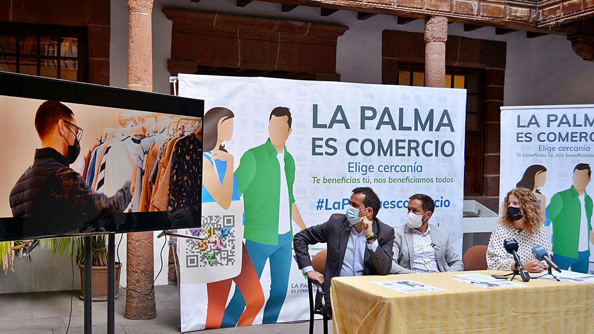 Presentación de la iniciativa 'La Palma es Comercio'.