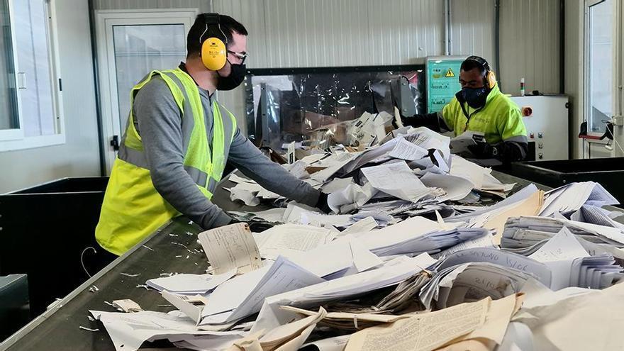 Nueva planta de tratamiento de residuos de papel y cartón