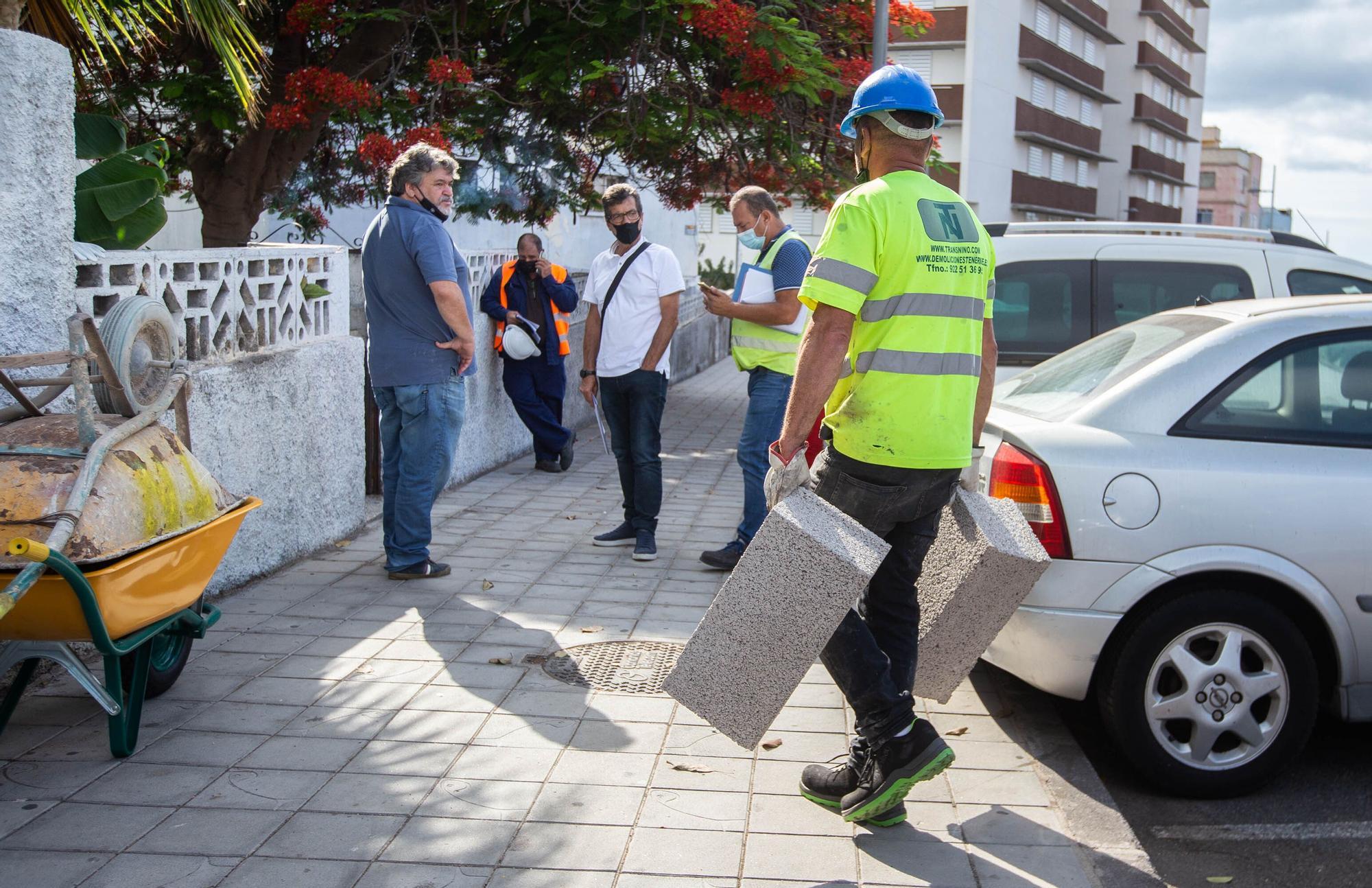 Mudanza a las 115 viviendas de La Candelaria