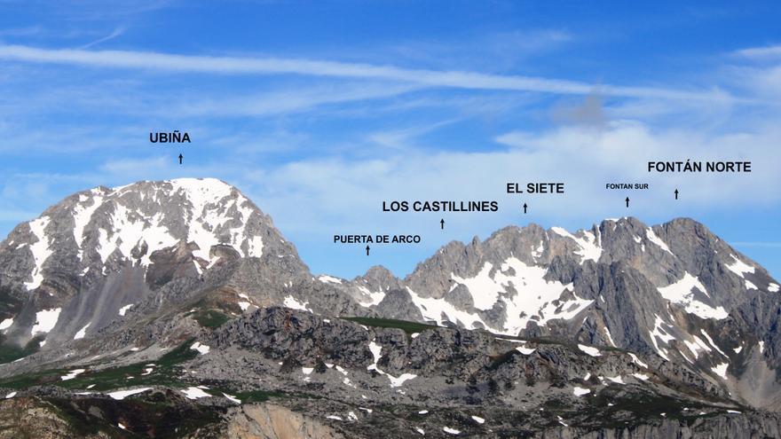 Peña Ubiña, al revés que el Everest: mengua tres metros y el Fontán Norte pasa a ser la montaña más alta del centro de Asturias