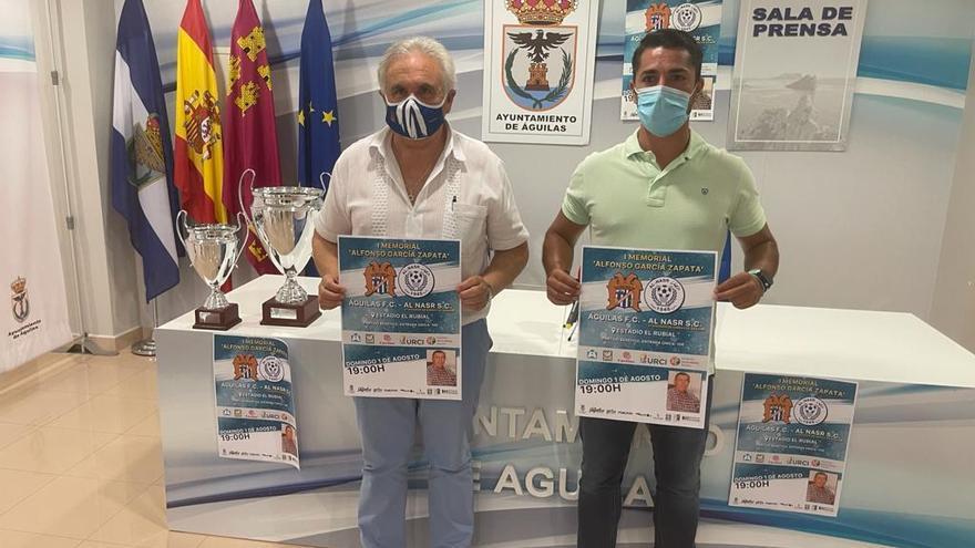 El Águilas FC recordará a Alfonso García Zapata con un memorial