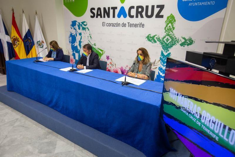 Presentación de las actividades con motivo del Orgullo LGTBI en Santa Cruz de Tenerife