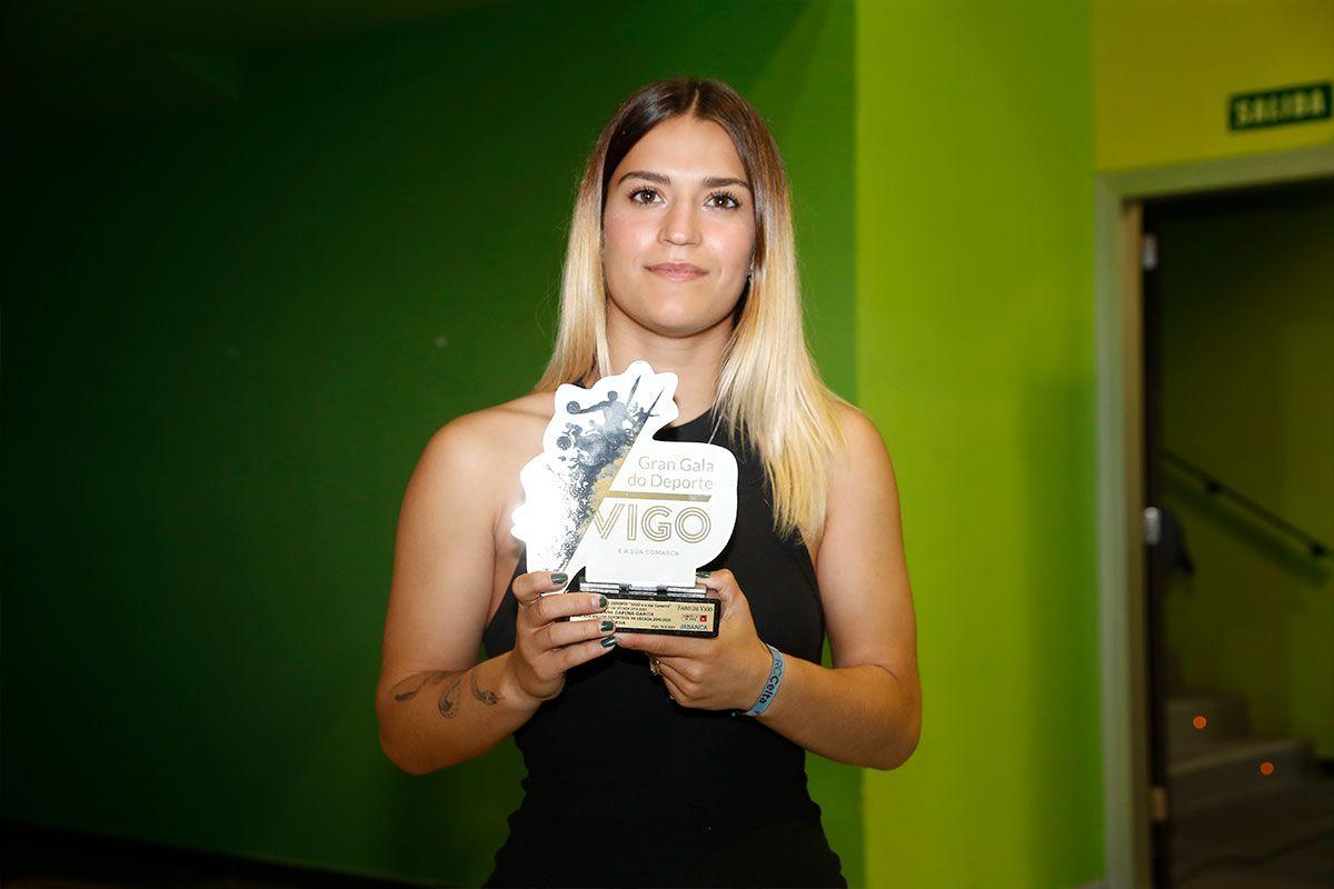 Aintzane Dapena, ganadora de gimnasia
