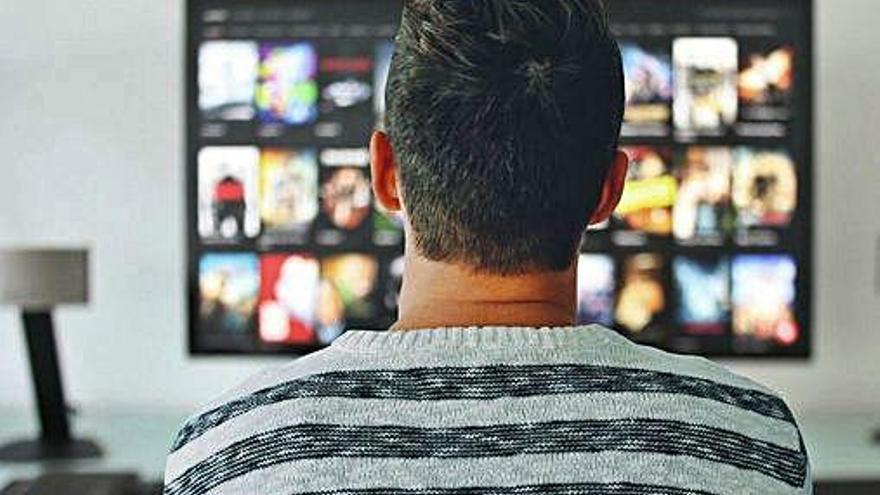 El consumo de televisión tradicional disminuyó este año a los niveles de 2007