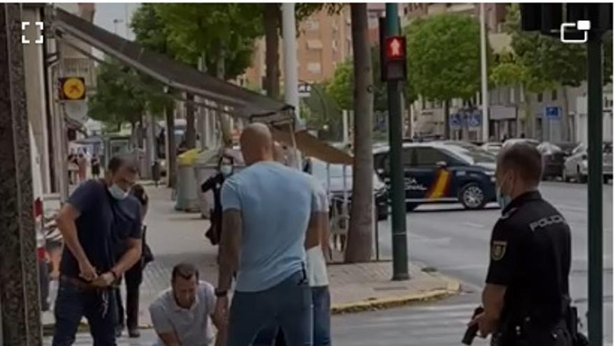 Detenido tras intentar atracar un banco en Elche