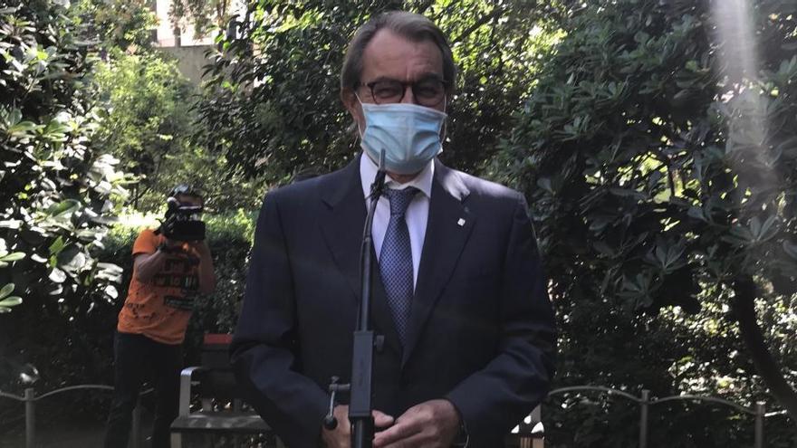 Artur Mas se reunió con Sánchez en Moncloa antes de la sentencia del Supremo