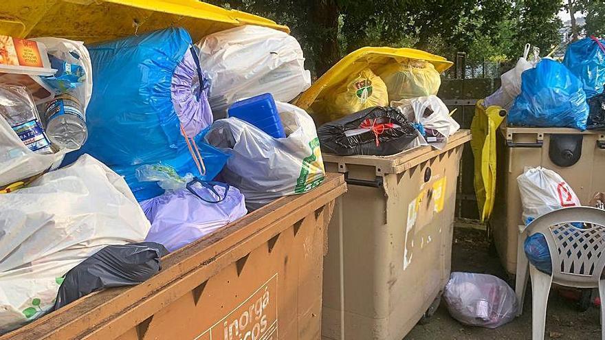 El PP alerta de saturación de basura en Santa Cristina