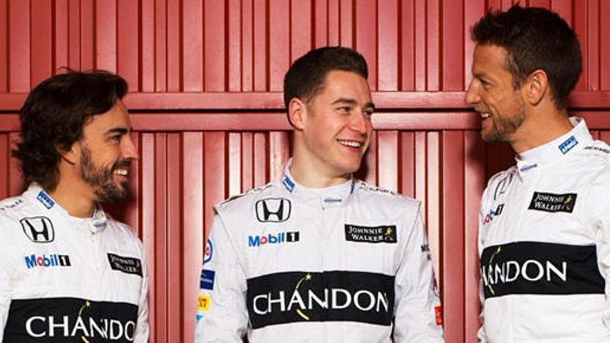 El belga Vandoorne será el compañero de Alonso en 2017
