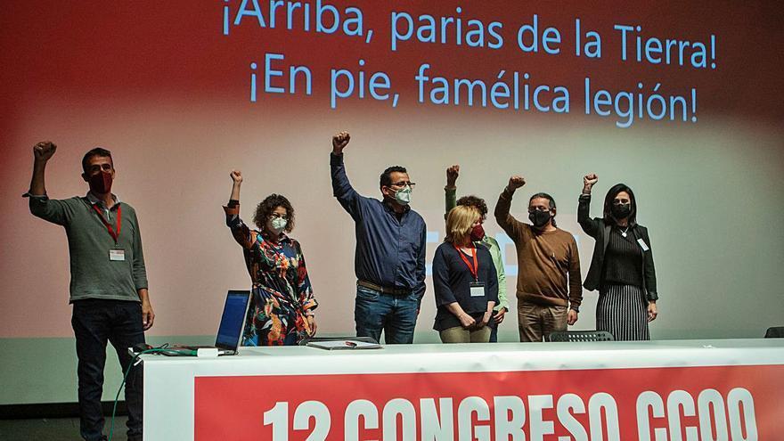CC OO renueva su ejecutiva en Zamora y pone la vista en salir de la crisis
