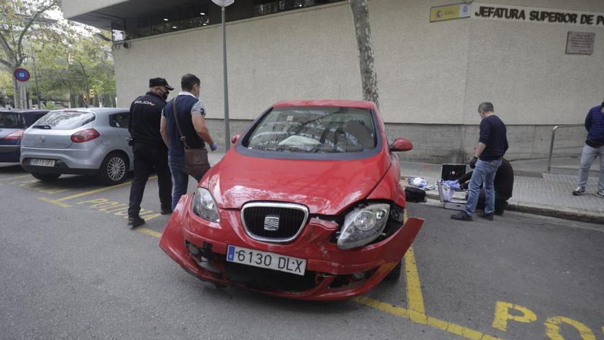 Detenido un hombre por matar a su mujer en Palma y simular  un accidente de tráfico