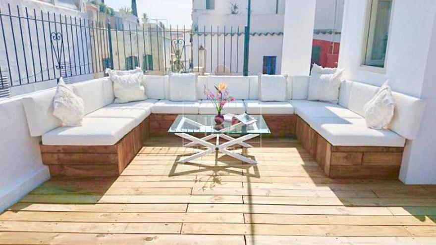 Pisos con terraza en venta en Ibiza