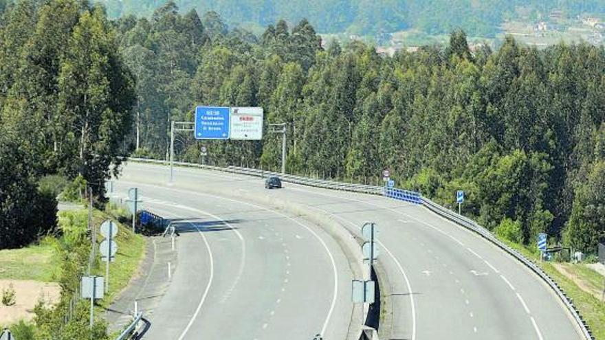 La autovía do Salnés y el enlace de A Lanzada, los viales con mayor caída de tráfico por la pandemia