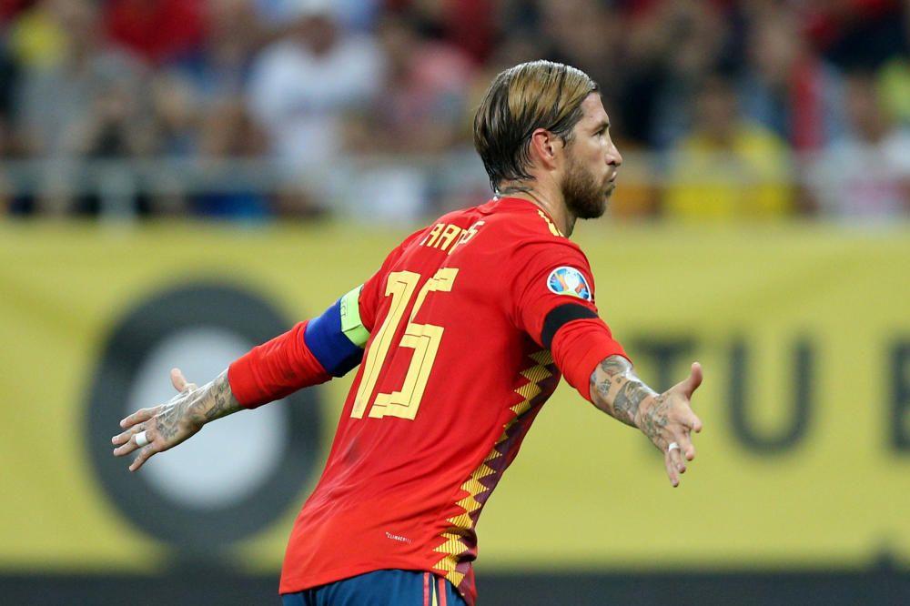 Clasificación para la Eurocopa 2020: Rumanía-Españ