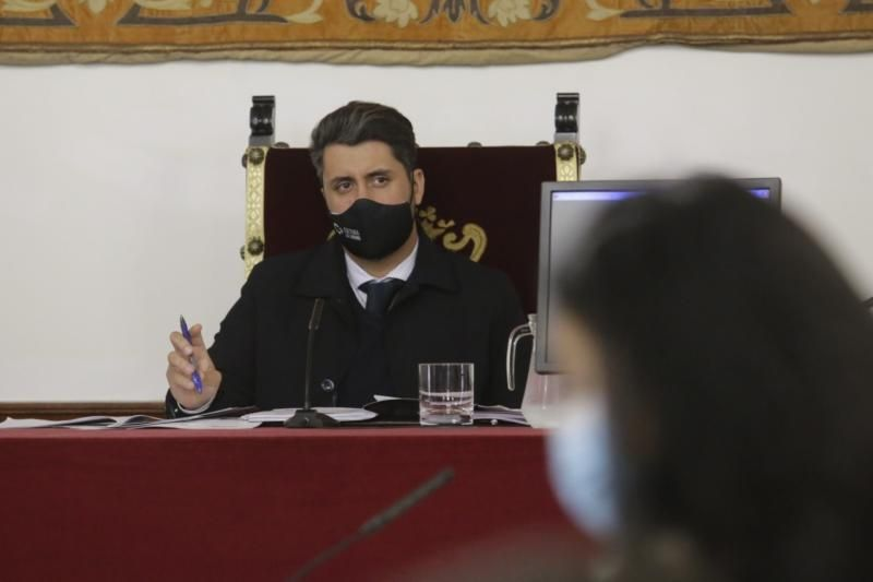 Pleno del Ayuntamiento de La Laguna, 11/03/2021