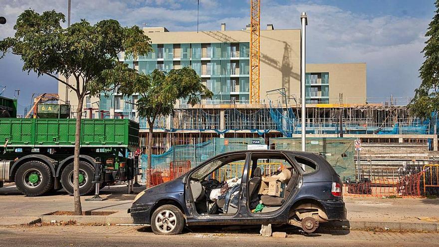 So schnell voran geht es im Neubauviertel Nou Llevant in Palma de Mallorca