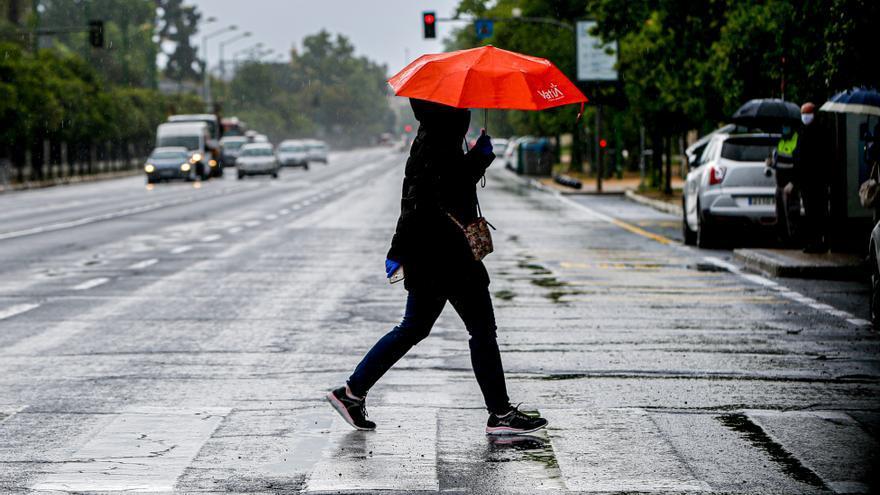 Aviso amarillo por tormentas este domingo en la Axarquía
