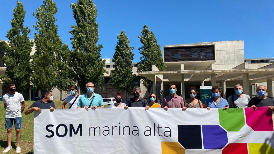 """Alcaldes de Compromís e independientes crean la plataforma """"Som Marina Alta"""" y anuncian una denuncia contra Marina Salud"""