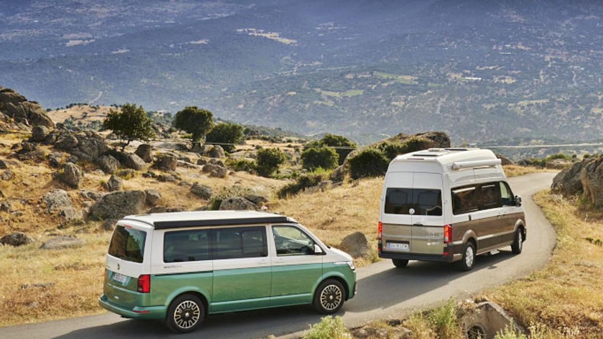 Conducir una autocaravana o una camper tampoco es muy distinto  de un coche.