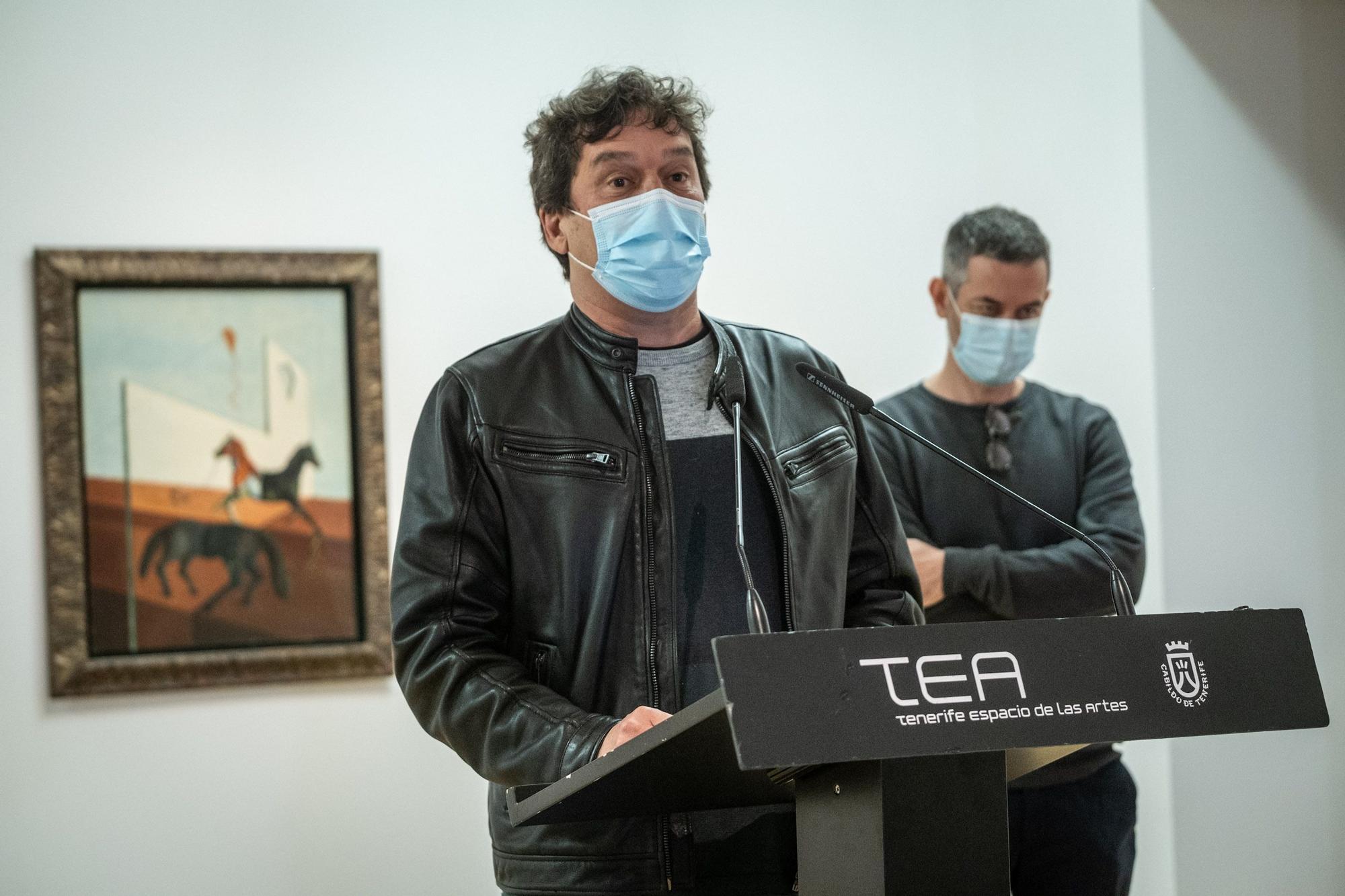 Nueva exposición sobre los fondos de TEA