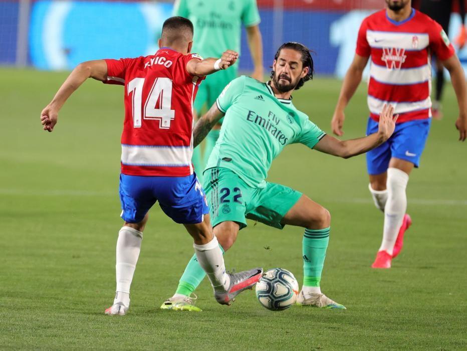LaLiga Santander: Granada - Real Madrid.