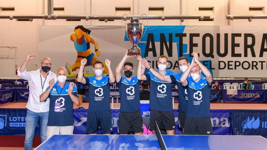 El Real Cajasur Priego logra su tercer doblete de Liga y Copa