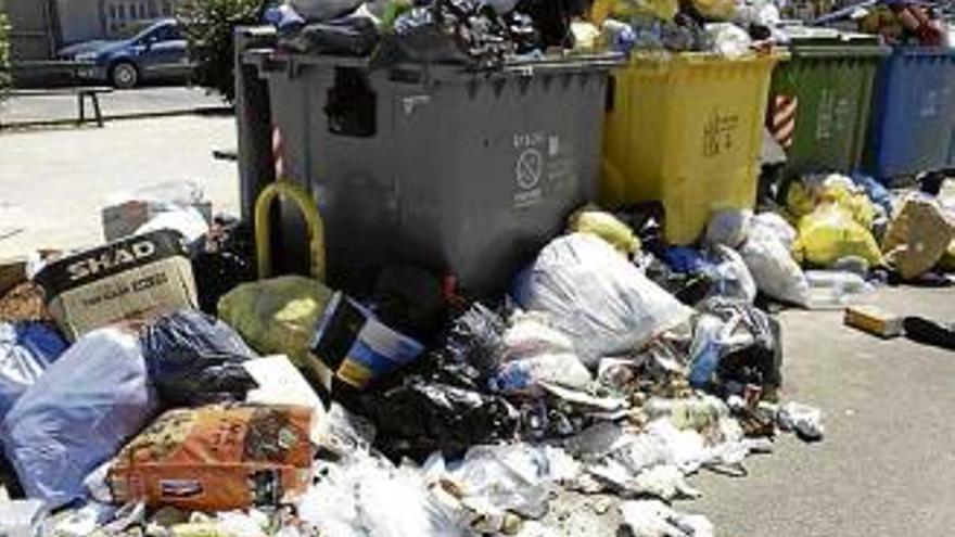 Die Müllabfuhr bestreikt den Osten von Mallorca