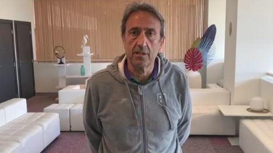 """Luis Casimiro: """"Hay que controlar el rebote ante el AS Monaco"""""""