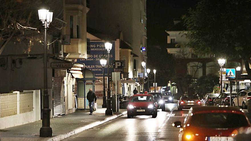 Sustituyen 220 puntos de luz en San Pedro por luminaria LED