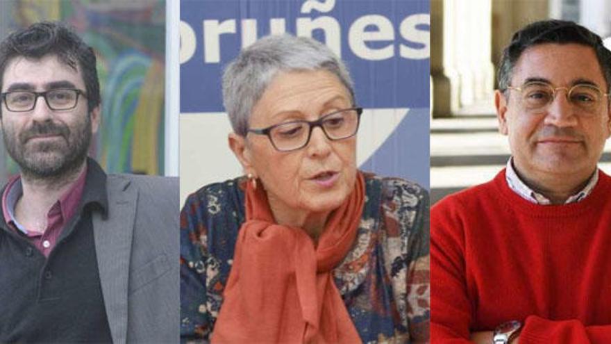 Afines a los tres candidatos reclaman un cambio de rumbo