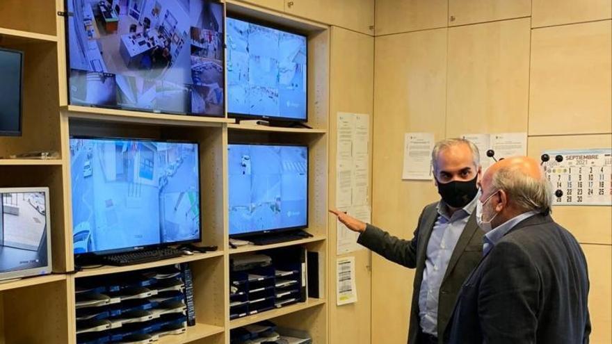 Calatayud ya cuenta con 16 nuevas cámaras de videovigilancia en sus calles