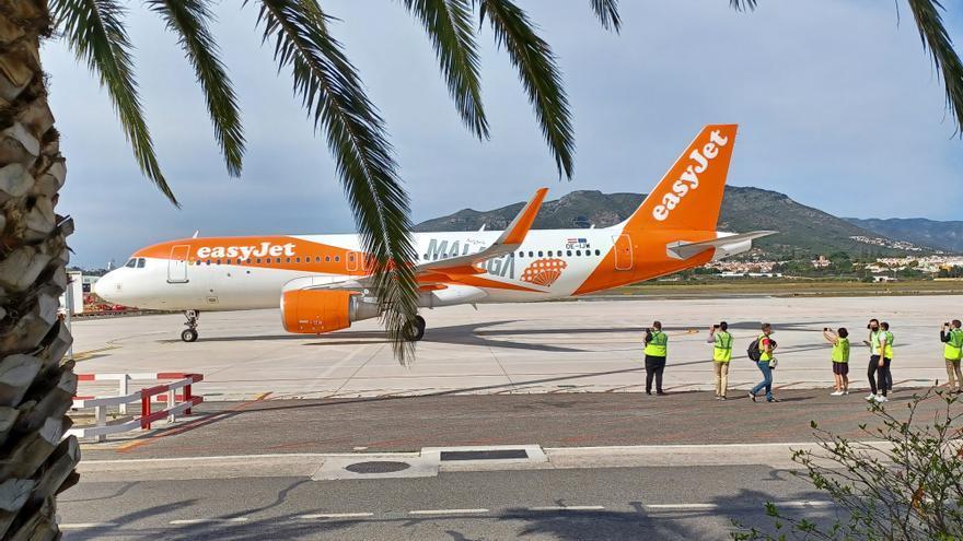 Easyjet aterriza en Málaga con su nueva base estacional