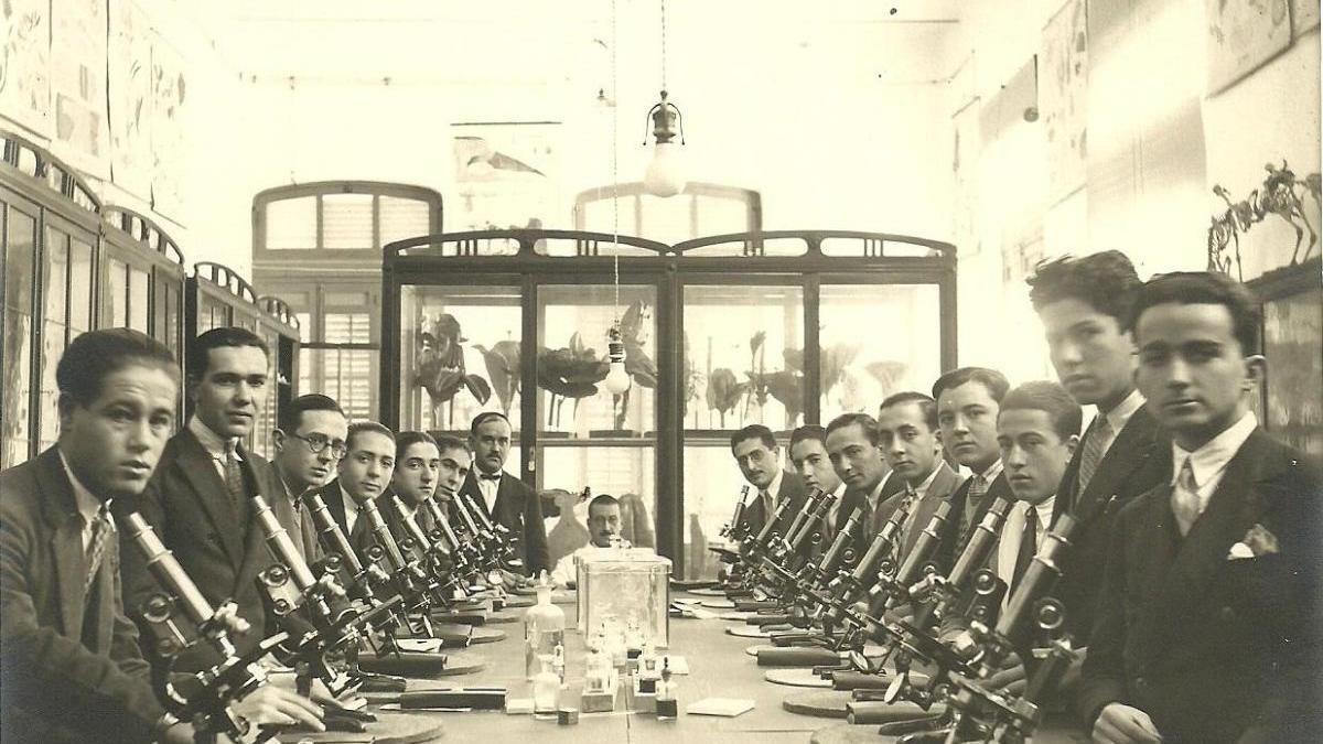 1929: el 'mejor laboratorio de ciencias de España'