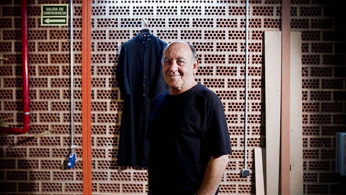 Pep Cortés durant una entrevista amb Levante-EMV l'any 2011. | FERNANDO BUSTAMANTE