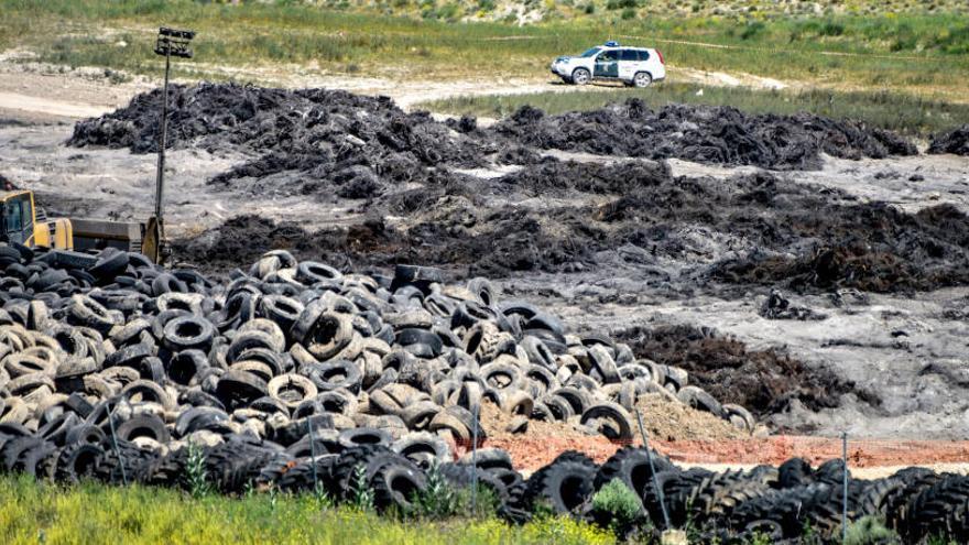 Una venganza entre cuñados pudo originar el incendio de Seseña, según la Guardia Civil