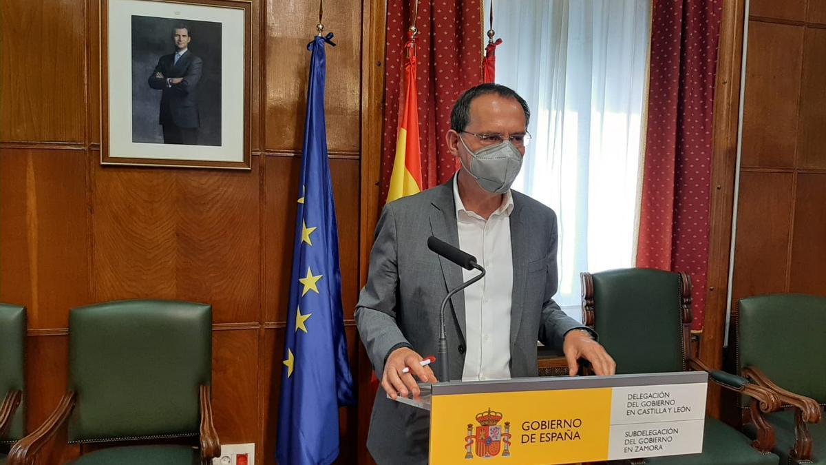 Ángel Blanco, subdelegado del Gobierno, hace balance del fin de semana