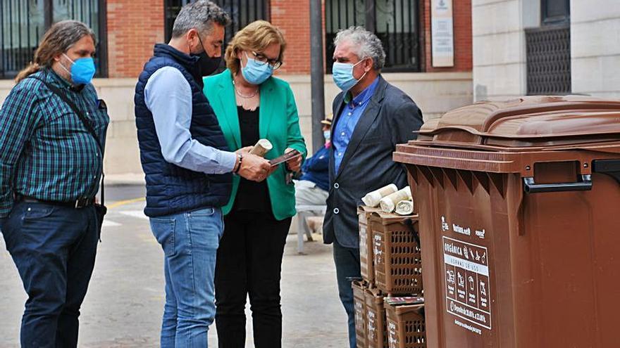 Burriana repartirá un lote para fomentar el reciclaje de residuos