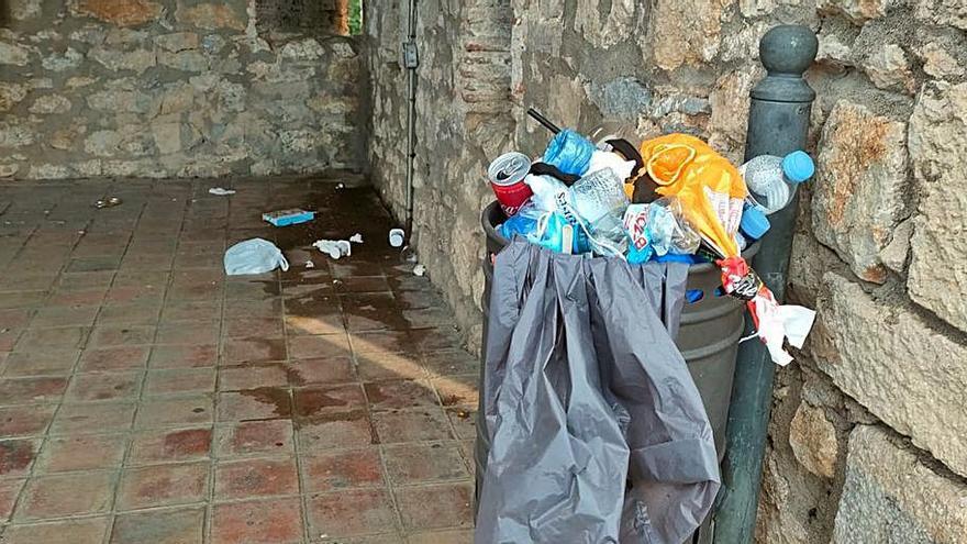 La muralla de Girona bruteja