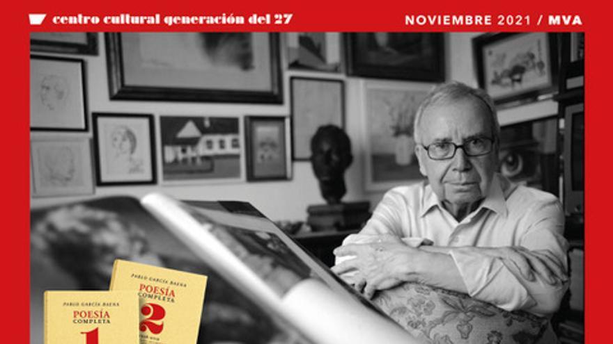 Presentación del libro poesía completa de Pablo García Baena